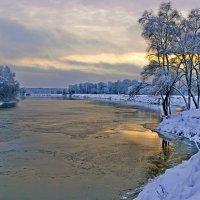 Зимнее утро на Десне :: Дубовцев Евгений