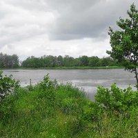 Тучи над озером ходят, в воздухе пахнет дождём... :: Маргарита Батырева