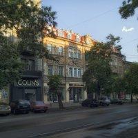 Когда город еще, спит,- рассвет над Екатерининской. :: Вахтанг Хантадзе