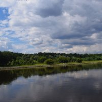 плывут по небу  облака.... :: Galina Leskova