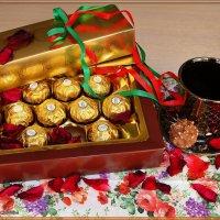 Чай с конфетами :: °•●Елена●•° Аникина♀