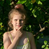 Портрет девочки :: Александр Синдерёв