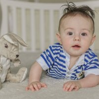 Арсений, 6 месяцев :: Marya Matoshina