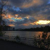 Набережная Енисея :: Дмитрий Евсеев