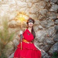 Шумерская богиня Инанна :: Мария Дергунова