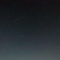 Большая Медведица и трек метеора :: Анатолий Антонов