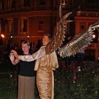 дежурный ангел мне явился ночью... :: Александр Корчемный