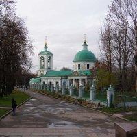 Храм Троицы Живоначальной в Воробьеве 1877г :: Анна Воробьева