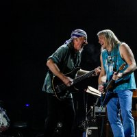 Deep Purple: Стив Морс, Роджер Гловер и Дон Эйри. :: Наталья Жукова