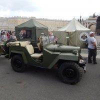 Парад боевой техники времен ВОВ в С.Петербурге :: Виктор Егорович
