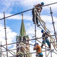 Подготовка к Спасская башня :: Михаил Тищенко