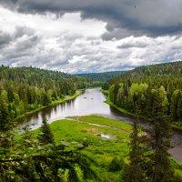 Река Усьва :: Вячеслав Ложкин