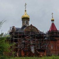 Храм в пос. Эльбан :: Ирина Антоновна