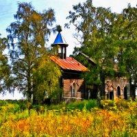 Деревянные церкви Руси :: Анжела Пасечник