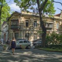 Утро в Старобазарном сквере. :: Вахтанг Хантадзе