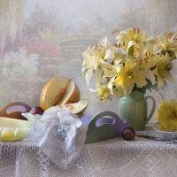 Там где цветут лилии... :: Валентина Колова