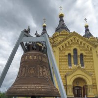 Колокол у собора :: Сергей Цветков