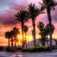 Sunset at Mesquite, NV :: Shukhrat Nurmukhamedov