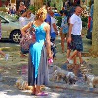 Дама с собачками :: михаил кибирев