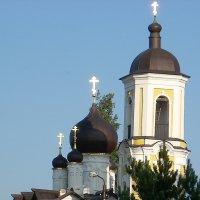 Кресты храма Николая Чудотворца. :: Sergey Serebrykov