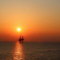 Закат в Мексиканском заливе :: Владимир Меньшиков