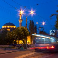 Вагончик тронется, мечеть останется. :: Юрий Кущ