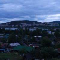 Вечерний город :: Юрий Голыбин