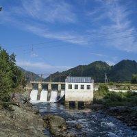 Чемальская ГЭС :: юрий Амосов