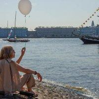 На берегу Невы :: Vasiliy V. Rechevskiy