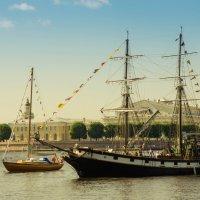 Корабли Невы :: Vasiliy V. Rechevskiy