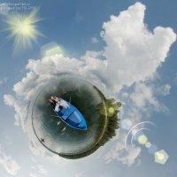 свадебная планета и шлюпка в океане любви :: Антон Летов