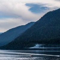 Закат на Телецком озере :: Константин Лосев