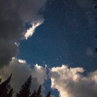 Ночное небо после грозы :: Павел Меньшиков