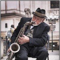 Уличный музыкант 1 :: Борис Гольдберг
