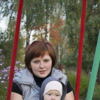 жена и сын :: алексей пономарев