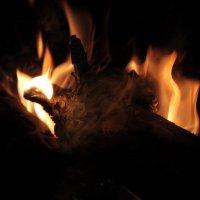 полено в огне :: юрий мотырев