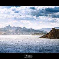 Только море, только небо, облака... :: Сергей Пилтник