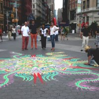 Живопись цветным песком! :: Galina Kazakova