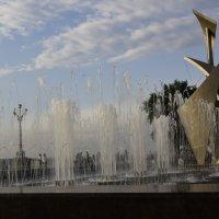 Обновленный фонтан на старой набережной, Самара :: Александр Сендеров