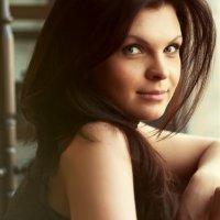 Девушка в кафе :: Екатерина Трифонова