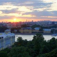 Закаты над Питером :: Вадим Залыгаев