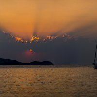 Закаты Эгейского моря :: Андрей Паршаков