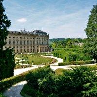 Резиденция и придворный сад в Вюрцбурге.. :: Валентина Потулова