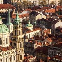 Вид на Прагу с Петршинской башни :: Catherine Muse