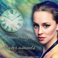 Мы не помним дни, мы помним моменты. :: Алена