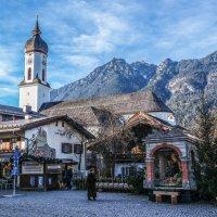 Декабрьский день в Баварии........ :: Александр Селезнев