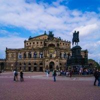 Германия,Дрезден-Памятник королю Иоганну :: Екатерина Гуща