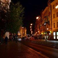 Вечер на улице Праги :: Ольга