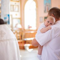 крещение Артема :: Александра Домнина
