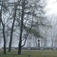 утренний туман в Александровском саду :: Елена